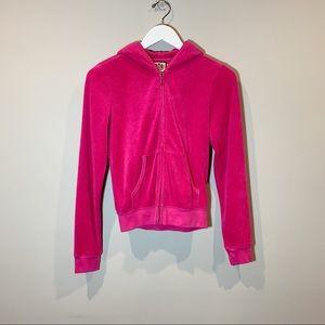 Juicy Couture Terry Cloth Jacket Magenta